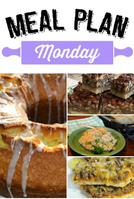 Meal Plan Monday #80