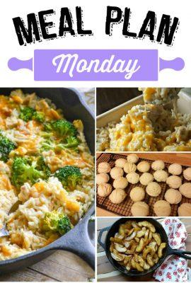 Meal Plan Monday 82