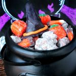 Witch Hat Puppy Chow Snack Mix