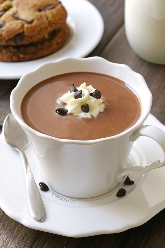 The Ultimate Hot Chocolate – #ChocolateForJoan {paleo, vegan, dairy-free options}