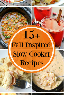 15+ Fall Inspired Slow Cooker Recipes