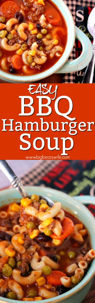 BBQ Hamburger Soup