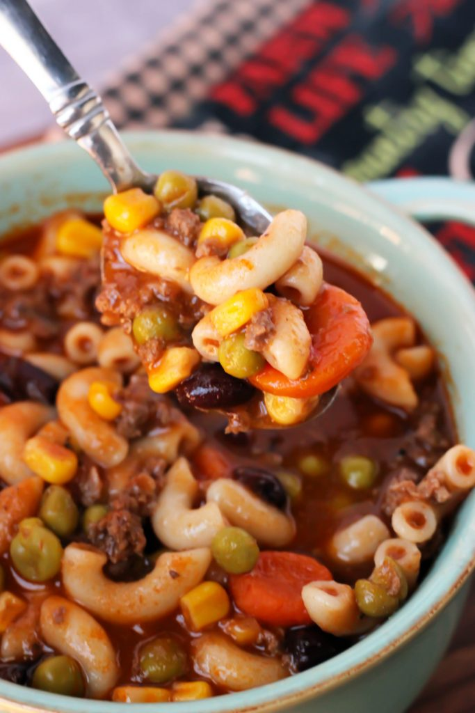 BBQ Hamburger Soup