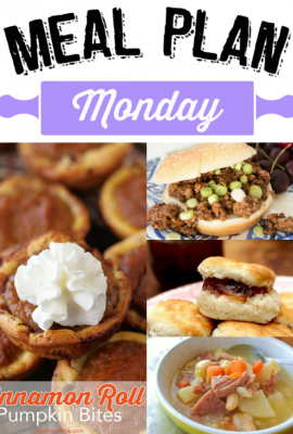 Meal Plan Monday 86 - Pull up a chair and grab a big ol' glass of sweet tea, we've got a another delicious Meal Plan Monday for you right here!
