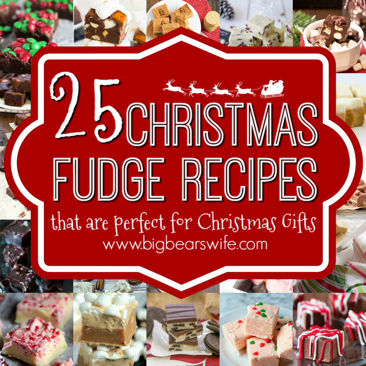 Christmas Gifts Pictures: 25 Christmas Fudge Recipes That Are Perfect For Christmas