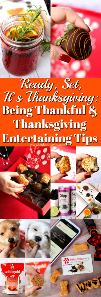 Ready, Set, It's Thanksgiving: Being Thankful and Thanksgiving Entertaining Tips -- Ready, Set, It's Thanksgiving: Let's check out some new products, chat about Being Thankful and I've got some Thanksgiving Entertaining Tips for y'all too!