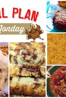 Meal Plan Monday 87