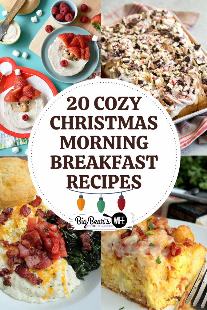 20 Cozy Christmas Morning Breakfast Recipes - We wish you a Merry Christmas, we wish you a Merry Christmas and a tasty morning breakfast! Keep the holiday spirit going on Christmas morning with one of these 20 Cozy Christmas Morning Breakfast Recipes!