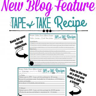 Tape and Take Recipe
