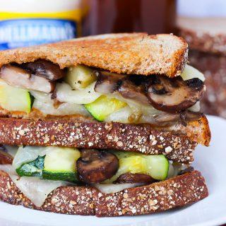 Perfectly Crispy Grilled Cheese & Veggies Hellmann's Strangewich