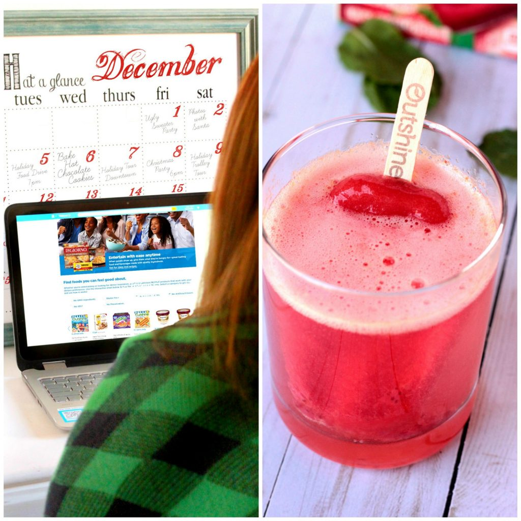 "Whats New NESTLÉ® ""Good Choices Made Easy"" Tool at Walmart PLUS Strawberry Slushie Mocktails"