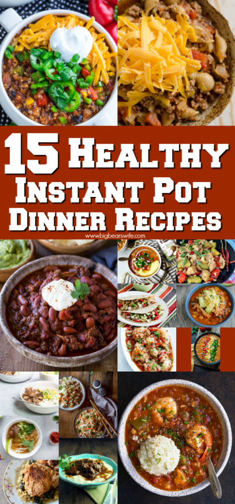 You've come to the right spot for Healthy Instant Pot recipes! I've found 15 Healthy Instant Pot Dinner Recipes that I know you're going to love!