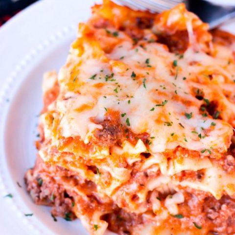 Easy Instant Pot Lasagna Pasta