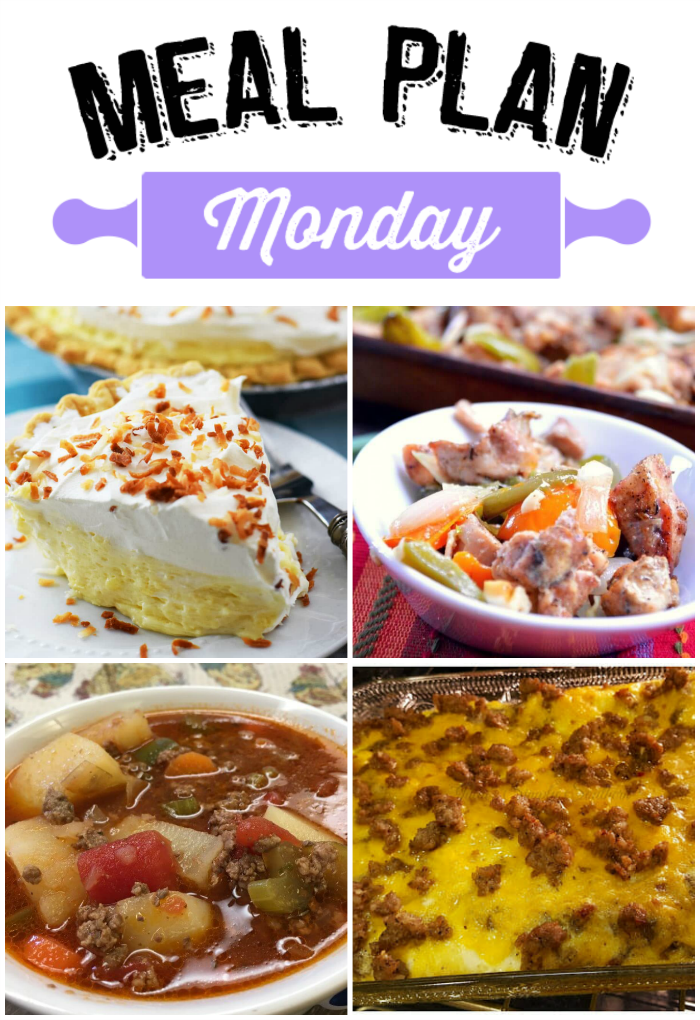 Hey Y'all! Welcome to Meal Plan Monday #96. The deep freeze that had hold of us left us all craving something warm and comforting to eat. Soups were very popular last week. We hope you've enjoyed a warm up in the weather where you are!
