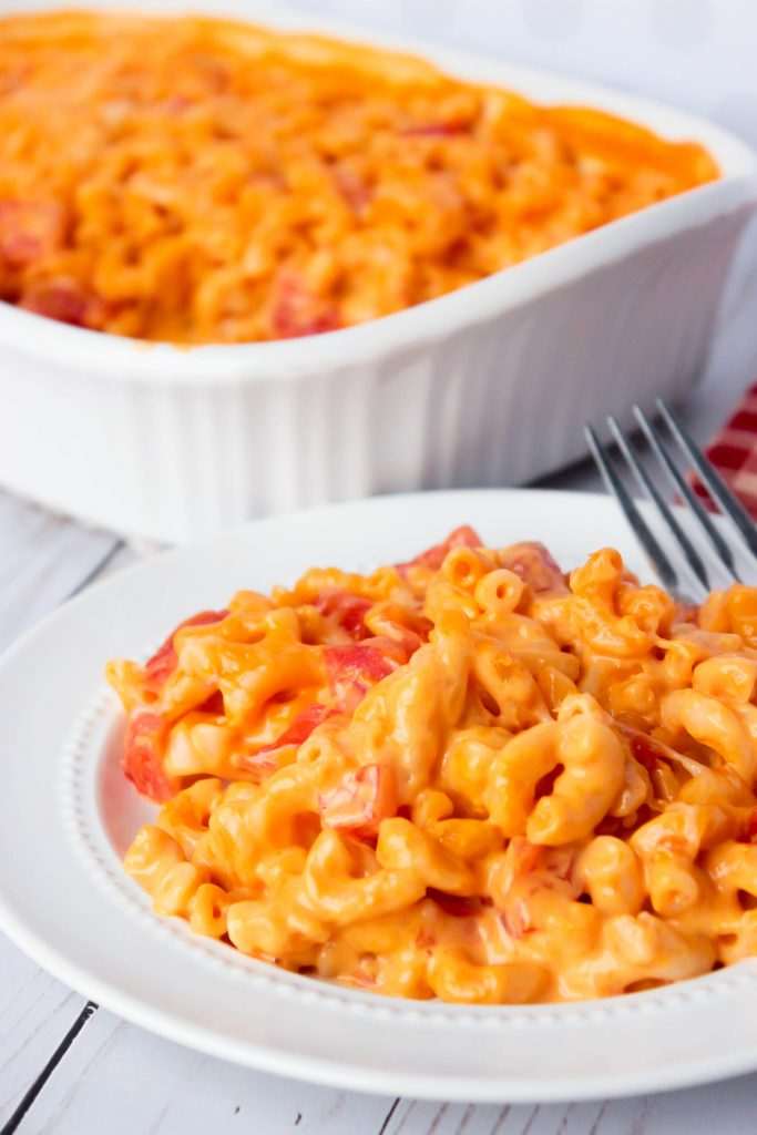 One Dish Easy Cheesy Mac and Cheese