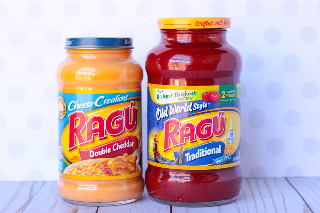 RAGÚ ® Old World Style Traditional Sauce & Double Cheddar Sauce