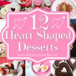 12 Heart Shaped Desserts
