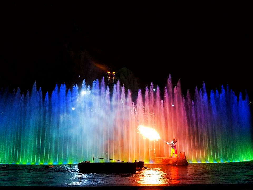 Fantasmic Show and Fireworks at Disney's Hollywood Studios