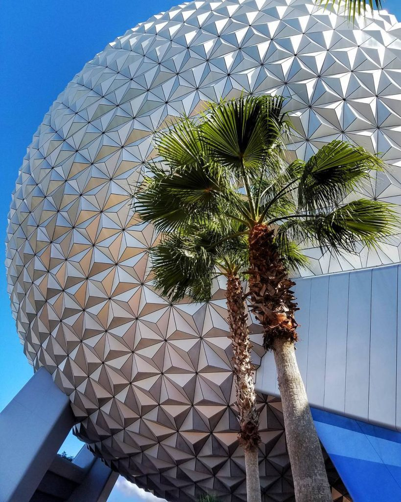 Spaceship Earth in Disney's Epcot