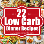 22 Low Carb Dinner Recipes
