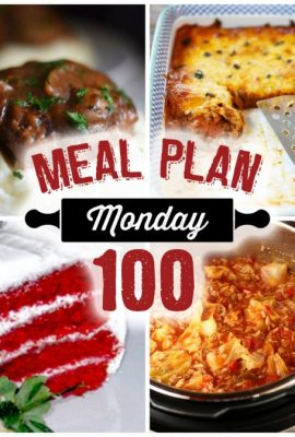 Meal Plan Monday 100