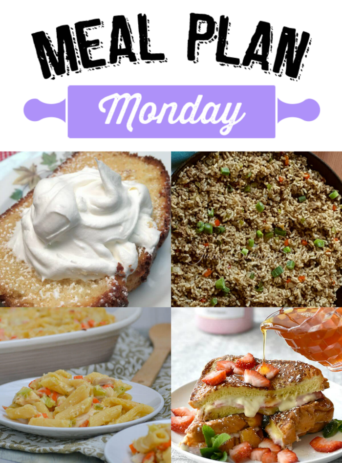 Meal Plan Monday 101 - Lunches, Dinners and Desserts! We've have tons and tons of free recipes for y'all here on Meal Plan Monday 101! Which one will you make first?
