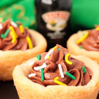 Bailey's Cookie Cups