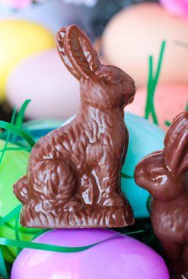 Homemade Chocolate Peanut Butter Rabbits #EasterSweetsWeek