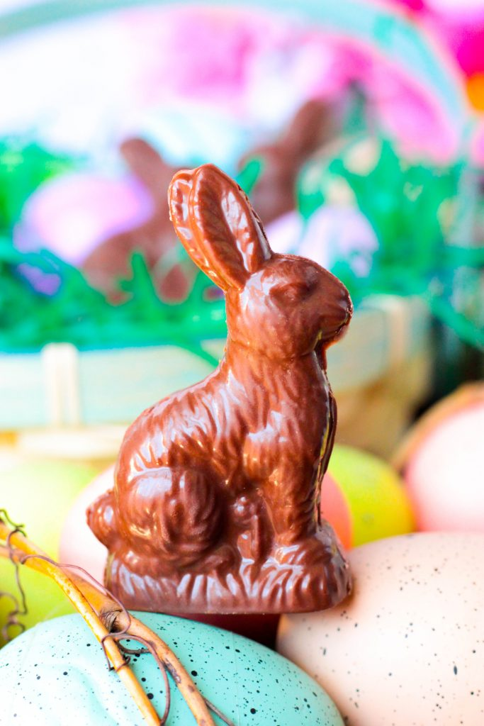 Homemade Chocolate Peanut Butter Rabbits