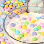 M&M Marshmallow Cheesecake Apple Dip #EasterSweetsWeek