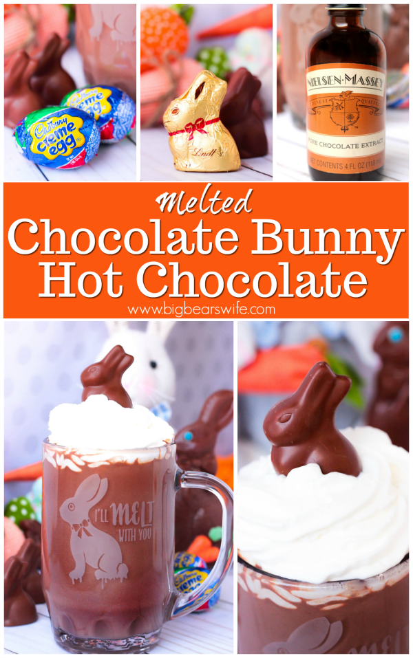 Melted Chocolate Bunny Hot Chocolate (6)