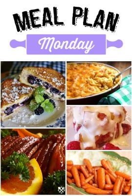 Meal Plan Monday 105