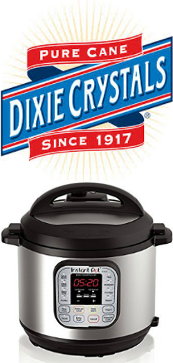 Dixie Crystals Pure Cane Sugar.