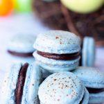 Robin Egg Macarons #EasterSweetsWeek