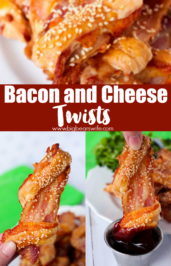 Bacon and Cheese Twists