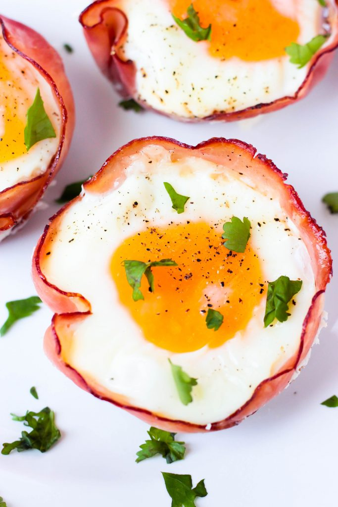 Ham Egg Cups - 2 Ways