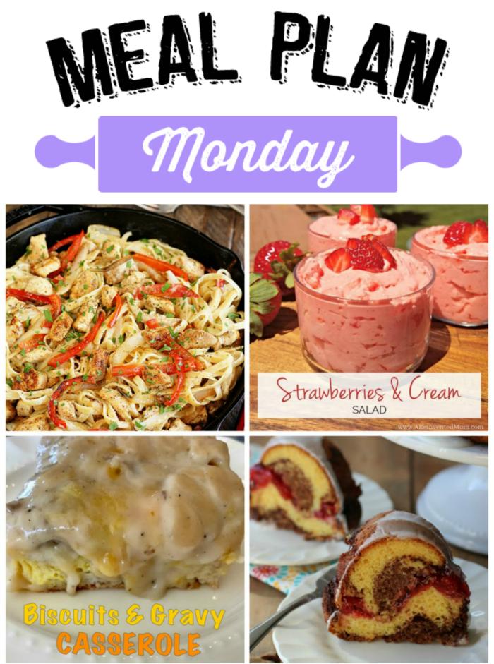 Meal Plan Monday 109