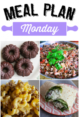 Meal Plan Monday #111