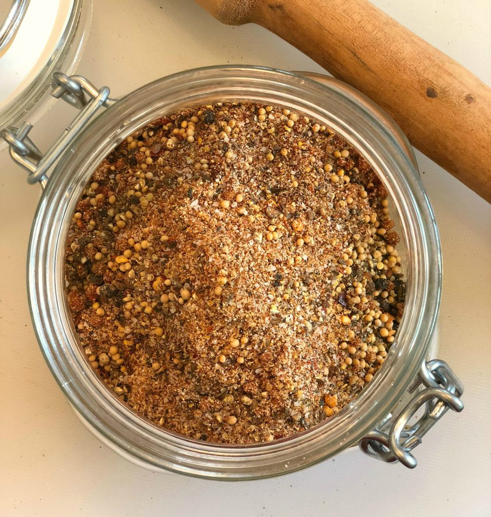 homemade montreal seasoning