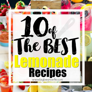 10 of The BEST Lemonade Recipes - What's more refreshing that a tall glass of ice cold lemonade on a steamy, hot summer day!? I've found 10 of the BEST lemonade recipes to help you cool down this summer!