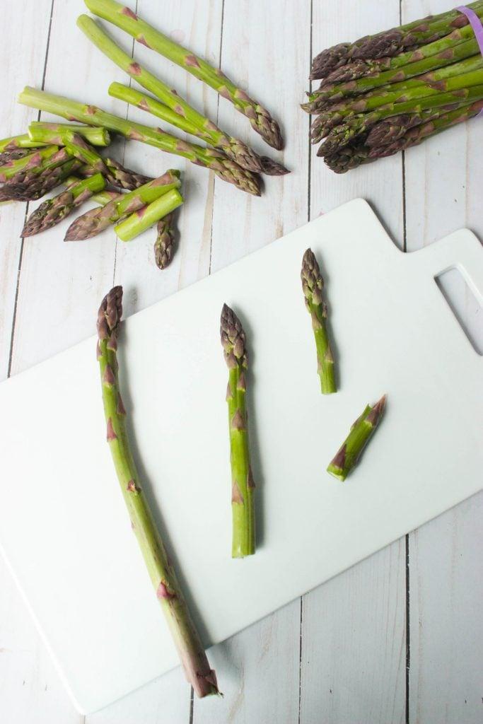 Asparagus Kielbasa Bow Tie Pasta