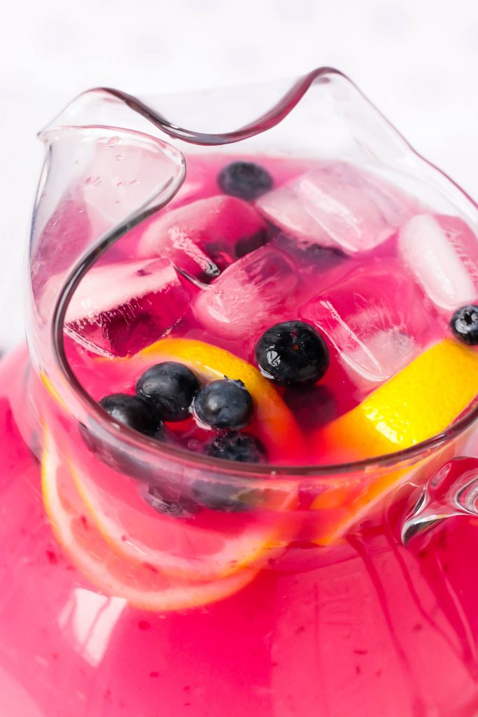 Muddled Blueberry Lemonade