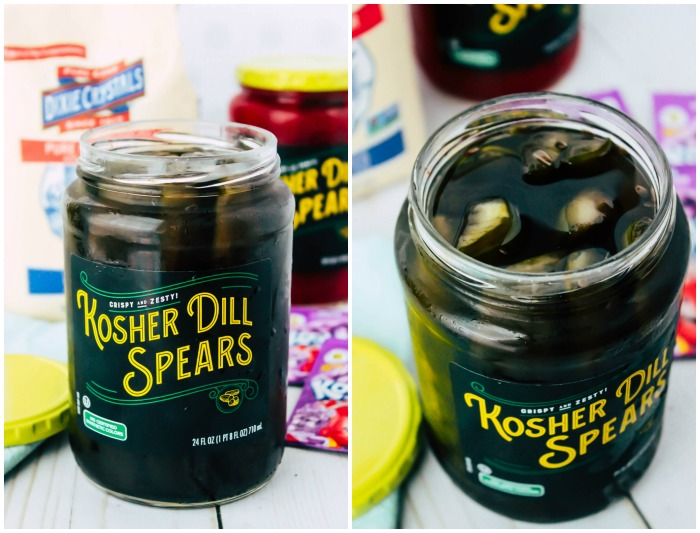 Kool-Aid Pickles - Ready for a great sweet and tangy treat to make the kids this summer? These Kool-aid pickles are fun to make and just as fun to eat!