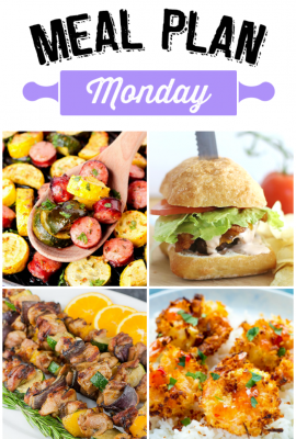 Meal Plan Monday 117