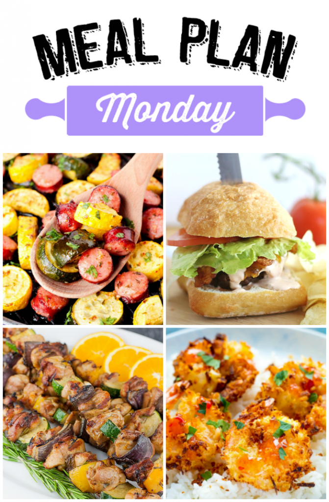 Ready for a Meal Plan Monday that's ready for summer? Meal Plan Monday 117 is ready to help you plan our your menu!