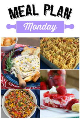 Meal Plan Monday 119