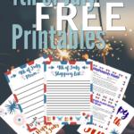 Free 4th of July Party Planning Printables