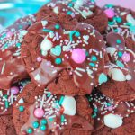 Unicorn Hot Chocolate Cookies
