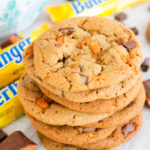 Chocolate Chunk Butterfinger Cookies
