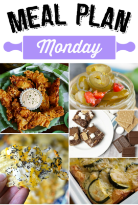Welcome to Meal Plan Monday 121! We have a delicious edition of Meal Plan Monday to share with you this week.